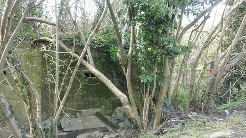 'Well, we dodged the pillbox - this time!' German walkers always seem to avoid being seen to stumble across one...