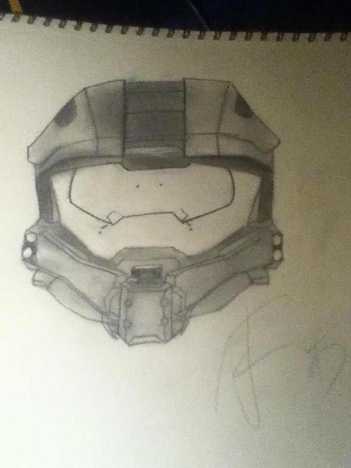 Halo 4 5 Master Chief Helmet Sorry For The Lack Of Uploads
