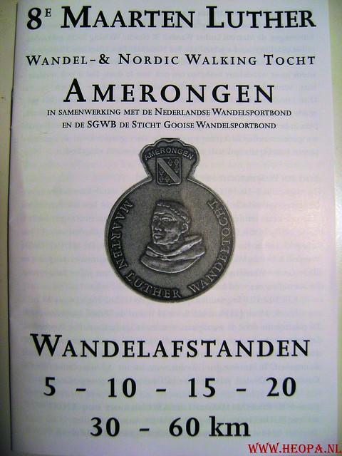 Maarten Luther Wandeling 30 KM