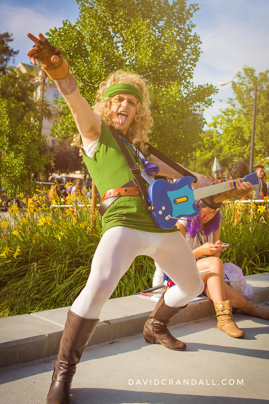 Rock and Roll Link and Fanime 2016