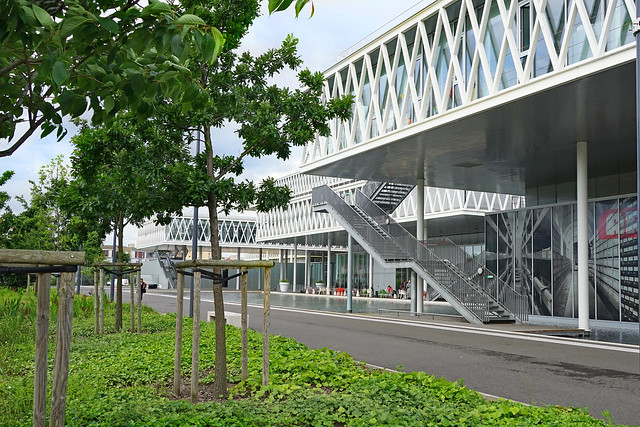 Les archives nationales (Pierrefitte-sur-Seine)