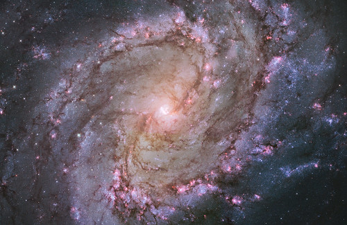 Spiral Galaxy M83 | by NASA Hubble