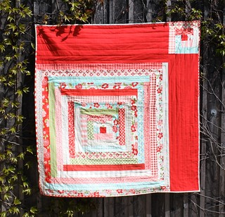 The log house quilt