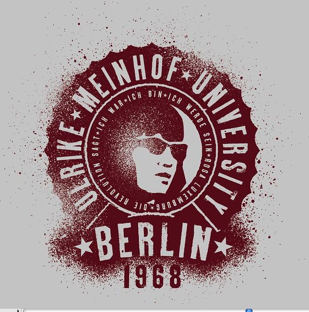 Ulrike Meinhof Univerity Berlin 1968