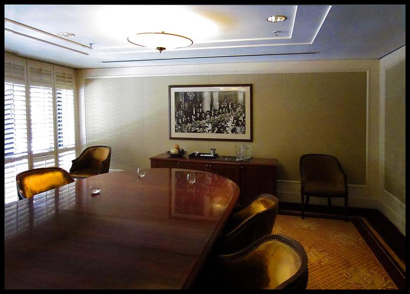 President Wilson, Ladies Luncheon, Palace Hotel