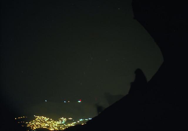 en la bufa con celia y negro; guanajuato, mexico (2002)