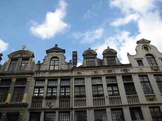 Facades at the Grote Markt (Bruxelles 2010)