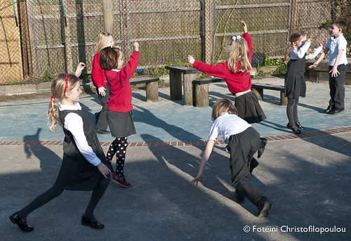 Maths Dance in the playground, Barnes Primary School, Spring Term 2013. | by mathsdance