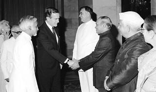 U.S. Vice President George H. W. Bush's visit to India,1984