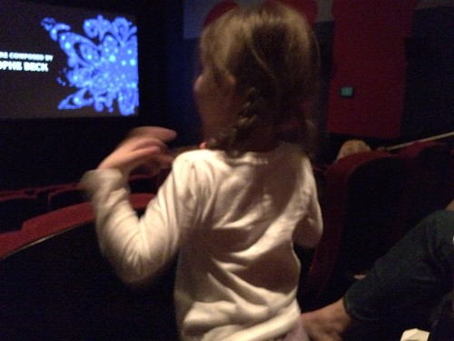 singing along at Frozen | by The Spohrs Are Multiplying...