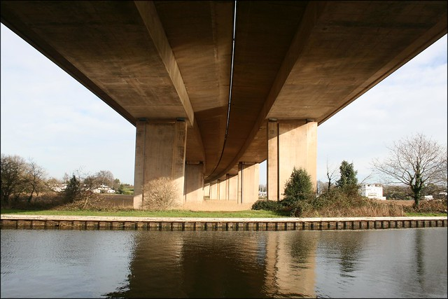 The Exeter Ship Canal and the M5