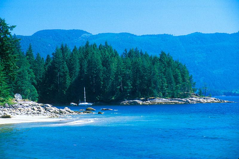 Saltery Bay Provincial Park, Jervis Inlet, Malaspina Peninsula, Sunshine Coast, British Columbia, Canada