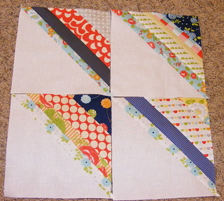March quilting newBEEs block