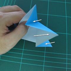 การพับกระดาษเป็นรูปตัวเม่นแคระ (Origami Hedgehog) 014