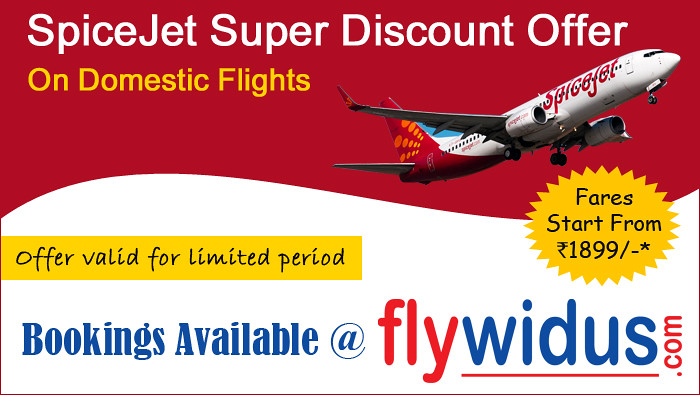 SpiceJet-Super-Discount | Are you travelling from or to the