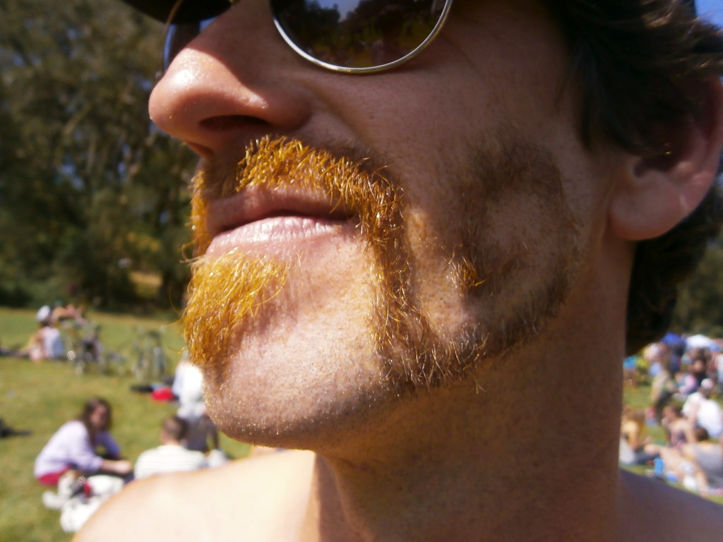 COOL BEARD CARVE  ! ~ HUNKY J CONTEST !  ( safe photo )