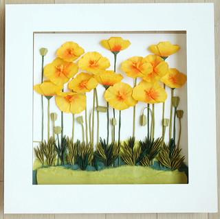 california poppy by whitepaper | by paper folding artist redpaper