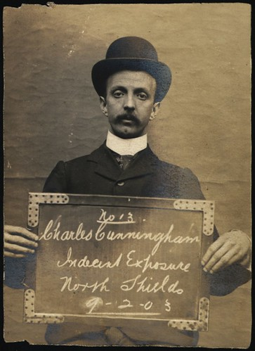 Charles Cunningham, arrested for indecent exposure | by Tyne & Wear Archives & Museums