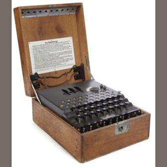 Máquina Enigma puesta a la venta