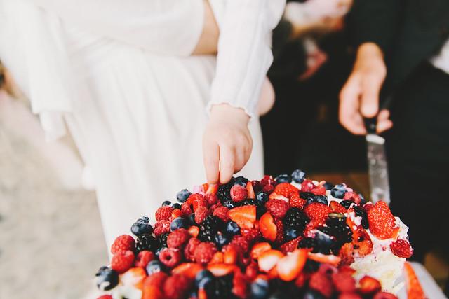 Wild Berry Cake