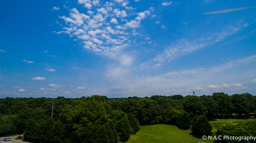 blue trees sky nature beautiful beauty clouds landscape nc quiet country northcarolina aerialphotography smalltown drone dji