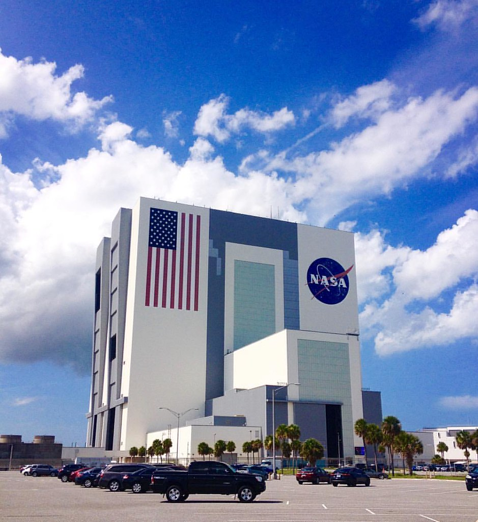 Vehicle Assembly Building' #nasa #ksc #kennedyspacecenter