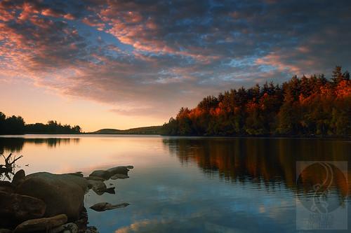 sunrise massachusetts nikond50 justinsmith fitchburgma leefilters nikon1735mmf28 lovellreservoir justinsmithphotocom