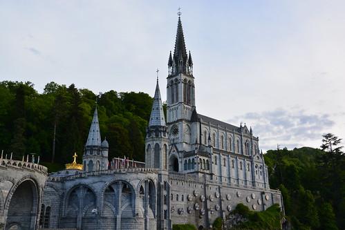 france clouds germany deutschland nikon frankreich europa view religion lourdes d5200