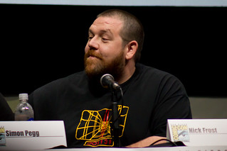 Nick Frost | by vagueonthehow