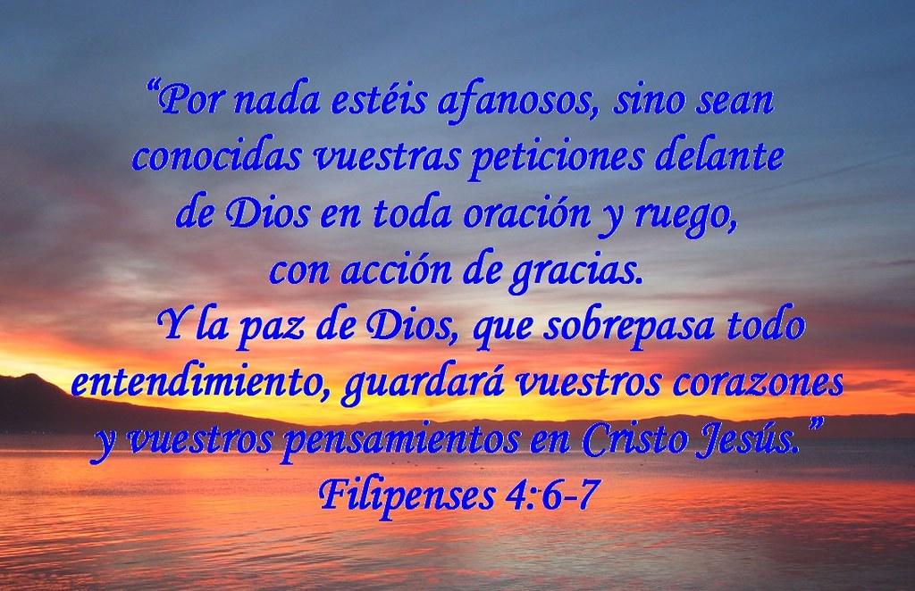Versiculos Biblicos De Promesas De Dios: Filipenses-4-vs-6-7 (1)