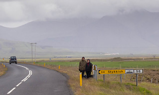 Hitchhikers in Iceland   by Patrick Rasenberg