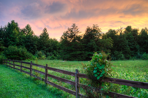 sunset day cloudy 1855mm hdr powhatanva nikond5100