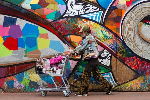 street art: camoflage