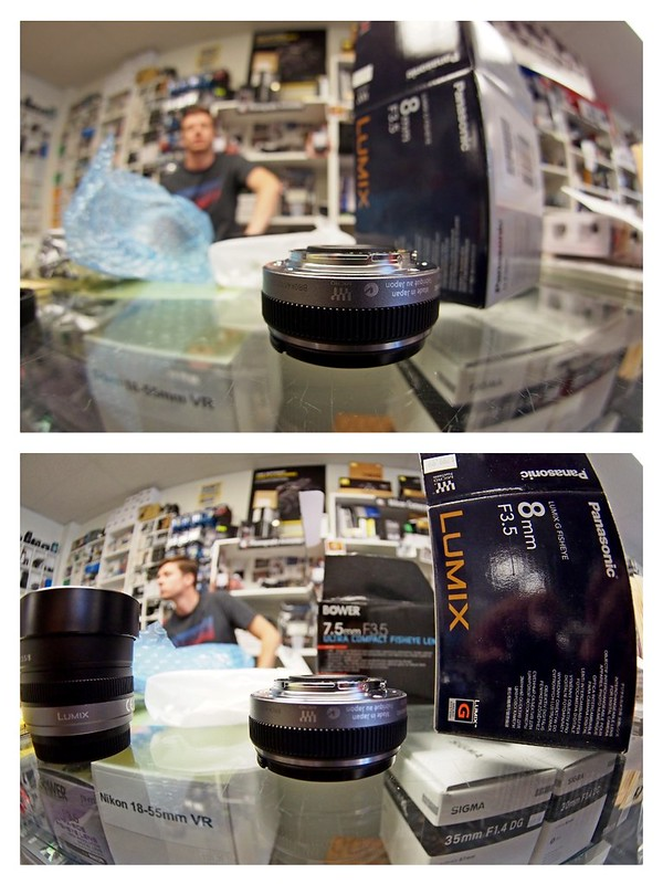 Panasonic/Bower Fisheye Shootout