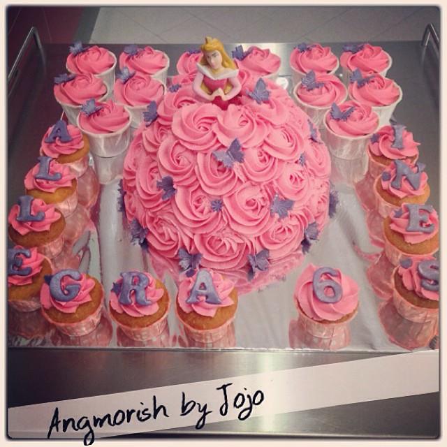 Birthday Cake Buttercream Pink Singapore Homemade Angmorish