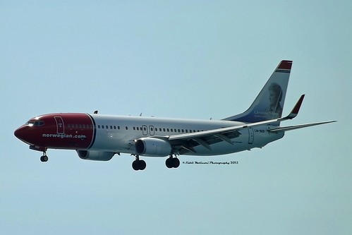 Norwegian Air Shuttle LN-NID on short final 4L @ Nice LFMN 12-09-2013 | by Nabil Molinari Photography