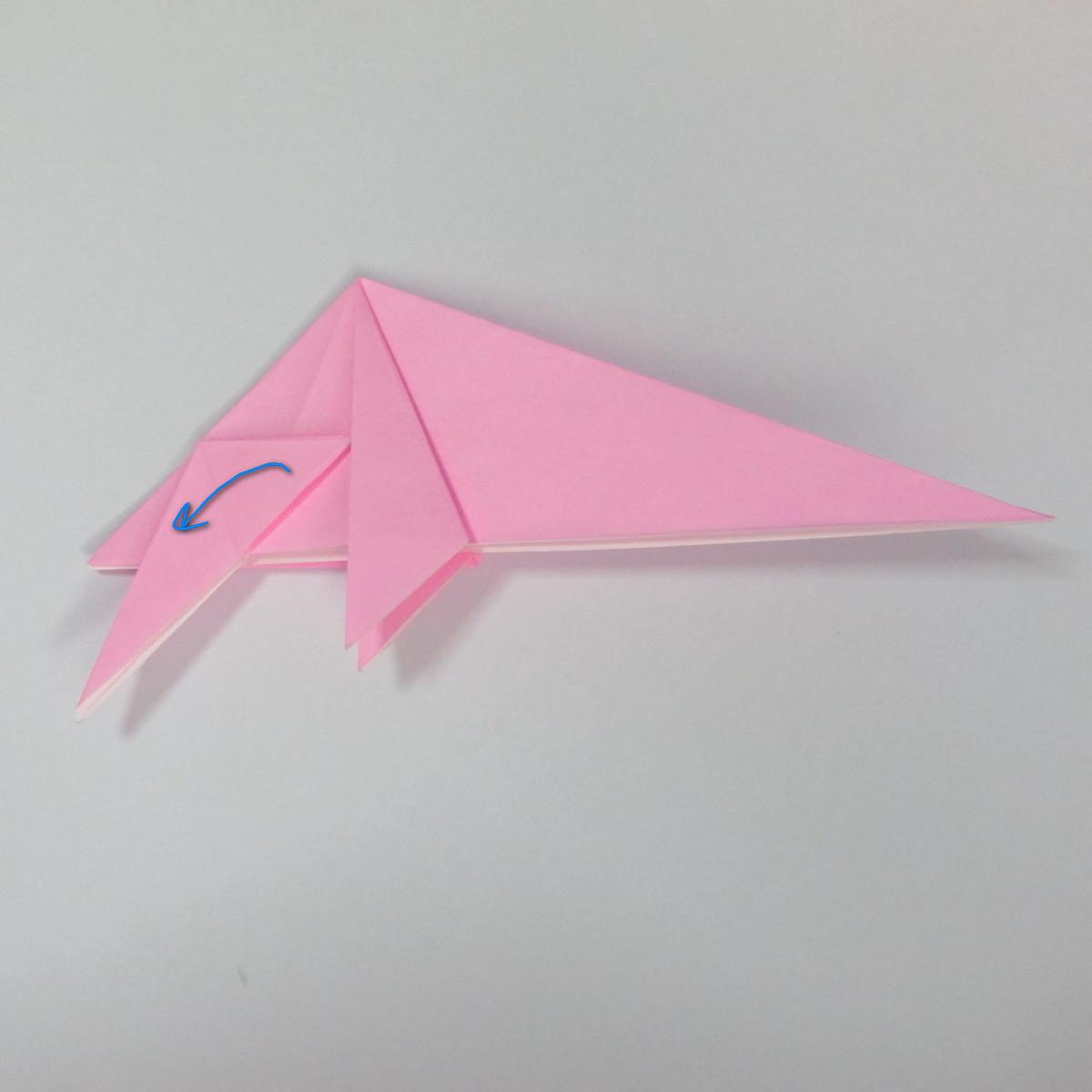 สอนการพับกระดาษเป็นลูกสุนัขชเนาเซอร์ (Origami Schnauzer Puppy) 049