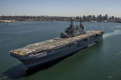 USS Peleliu (LHA 5) file photo. (U.S. Navy/MC2 Kenan O'Connor)