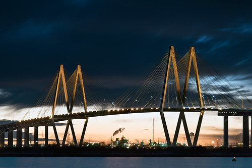 city usa night landscape lights texas tx houston 063 fredhartmanbridge thehaif 31662 baytownmarina 20150124