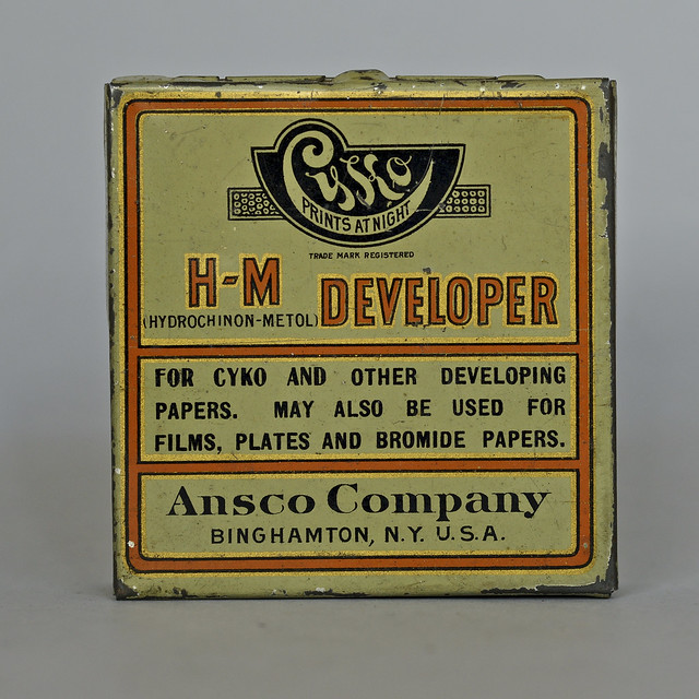 Ansco H-M Developer for Cyko Papers (ca 1918)  1