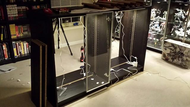 Display Cabinet WIP