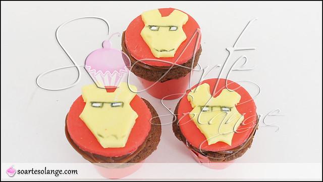 Cupcakes – Homem de Ferro / Iron Man