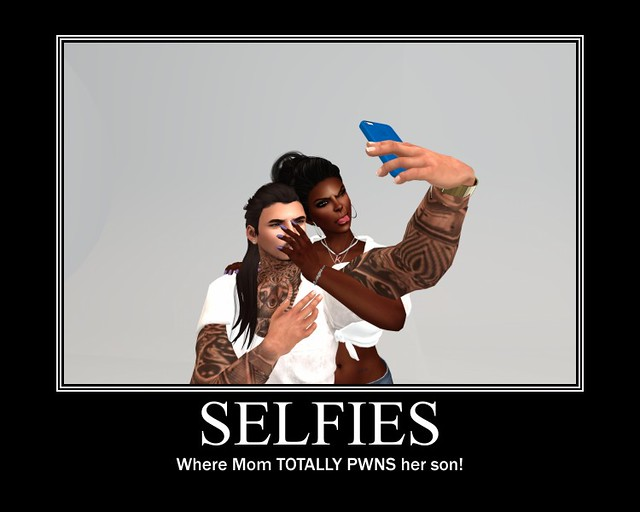 A Mother/Son Selfie <3