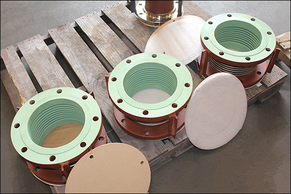 PTFE Coated Single Expansion Joints For A Power Plant in Mississippi