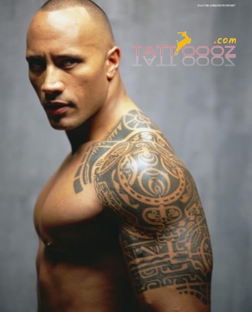 dwayne johnson tattoo