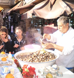 Morocco Snails Stall