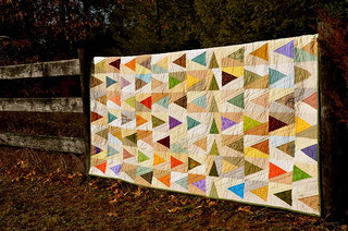 """Leave a Trail"" quilt 