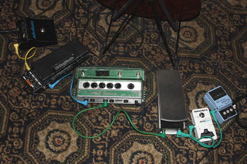 Musical Instrument Accessories 22: Effects Pedals (of John Etheridge) | by KM's Live Music shots