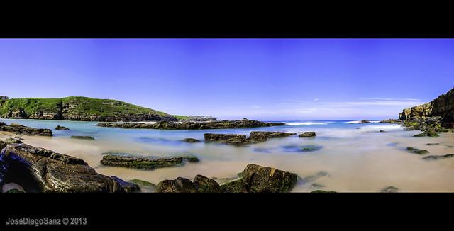 Panoramica Playa de Galizano