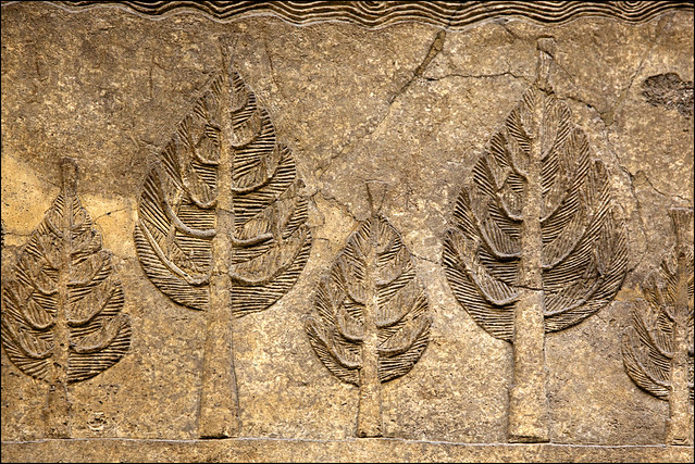 Interior wall, Palace of King Sennacherib, Nineveh, Northern Iraq, Assyrian